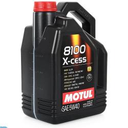Масло MOTUL 8100 X-cess 5W40 4л