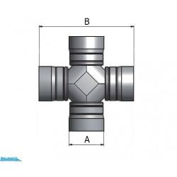 Крестовина карданного вала Scania (65x190)
